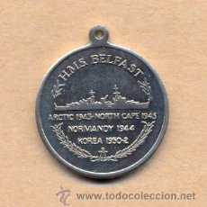 Militaria: MONEDA 171 - BELFAST - HMS - NORMANDY 1944 - KOREA 1950-2 - ARTIC1943 - NORTH CAPE 1943. Lote 26999554
