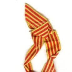 Militaria: 20 MAIG 1906 HOMENAJE DE LA SOLIDARITAT CATALANA CATALUÑA . PLATA CON ANILLA Y CINTA. DIAMETRO: 31 M. Lote 23637900