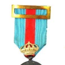 Militaria: DISTINCIÓN PALATINA DE LA REGENCIA DE Mª CRISTINA EN PLATA. Lote 26574800