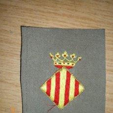 Militaria: PARCHE DE BRAZO EJERCITO DEL TURIA, GUERRA CIVIL. Lote 27454372