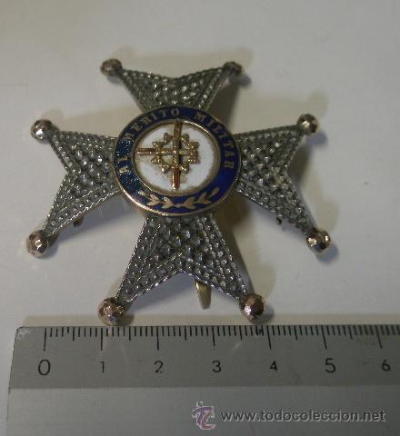 PLACA DE SAN FERNANDO, FABRICANTE ARELLANO 1856-1920 (Militar - Medallas Españolas Originales )