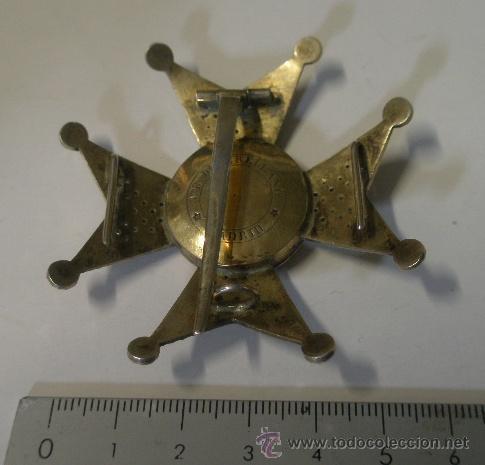 Militaria: Placa de San Fernando, fabricante Arellano 1856-1920 - Foto 3 - 24222839