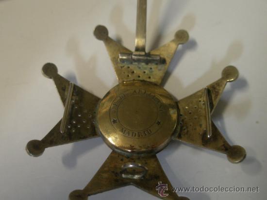 Militaria: Placa de San Fernando, fabricante Arellano 1856-1920 - Foto 4 - 24222839