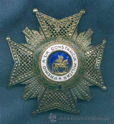 ORDEN DE SAN HERMENEGILDO. PLACA. EPOCA DE FRANCO. (Militar - Medallas Españolas Originales )