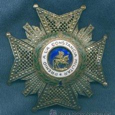Militaria: ORDEN DE SAN HERMENEGILDO. PLACA. EPOCA DE FRANCO.. Lote 15486824