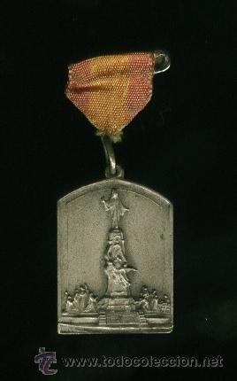 MEDALLA PATRIOTICA EN RECUERDO DEL CERRO DE LOS ANGELES. GUERRA CIVIL ESPAÑOLA (Militar - Medallas Españolas Originales )
