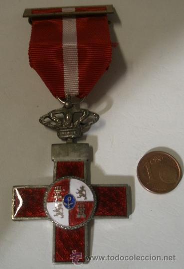 MEDALL AL MÉRITO MILITAR ROJO, UNIFACIAL, 1976-78 SUBOFICIAL, TRANSICIÓN (Militar - Medallas Españolas Originales )