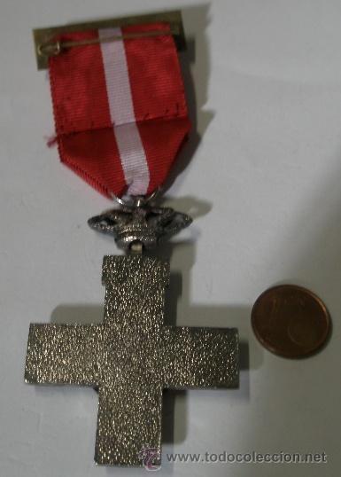 Militaria: Medall al Mérito militar rojo, unifacial, 1976-78 Suboficial, transición - Foto 2 - 16007308
