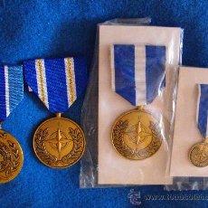Militaria: LOTE DE MEDALLAS ONU OTAN. Lote 27354937