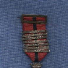 Militaria: MEDALLA ESPAÑOLA CAMPAÑA DE CUBA 1873.1ª REPUBLICA .PLATA. Lote 16773951