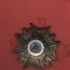 Militaria: PLACA PREMIO A LA CONSTANCIA MILITAR. SAN HERMENEGILDO. Lote 16796668
