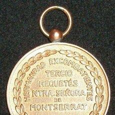 Militaria: MEDALLA ESPAÑOLA CONMEMORATIVA DE LOS VETERANOS DEL TERCIO DE MONTSERRAT DURANTE LA GUERRA CIVIL. Lote 27617351