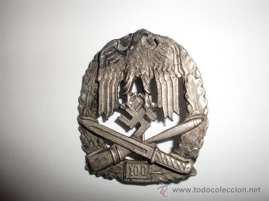 PLACA DE ASALTO GENERAL POR 100 ASALTOS (REPRO) (Militar - Reproducciones y Réplicas de Medallas )
