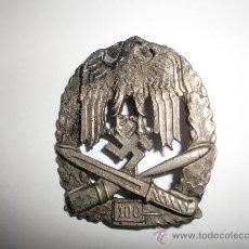 Militaria: PLACA DE ASALTO GENERAL POR 100 ASALTOS (REPRO). Lote 26592982