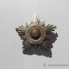 Militaria: ORDEN DE LA ESTRELLA DE LA REPUBLICA POPULAR DE RUMANIA (PERIODO COMUNISTA),PLACA 4 CLASE EN PLATA. Lote 26552355