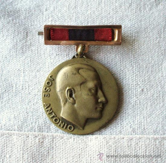 MEDALLA ORIGINAL 1934-1959 XXV ANIVERSARIO SECCIÓN FEMENINA FALANGE JOSE ANTONIO . (Militar - Medallas Españolas Originales )