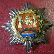 Militaria: PLACA DE PECHO, MERITO AGRICOLA, ESMALTES DE GRAN CALIDAD. Lote 24222945
