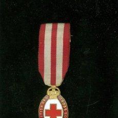 Militaria: MEDALLA CRUZ ROJA BRITANICA AL MERITO. THE BRITHIS RED CROSS SOCIETY FOR MERIT. GRABADOR J. EDGAR. . Lote 27243341