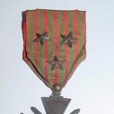 Militaria: ANTIGUA CONDECORACION O MEDALLA DE LA REPUBLIQUE FRANCAISE - I GUERRA MUNDIAL - 1914/1915 - CON 3 E. Lote 26184808