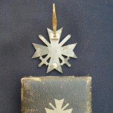 Militaria: CRUZ DEL MÉRITO DE GUERRA, 1ª CLASE, CON ESPADAS. IIGM. . Lote 27043439