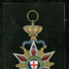 Militaria: 1921. MILAN. MEDALLA ESMALTADA DE LA EXPOSICION REUNIDA DEL TRABAJO. . Lote 27564761