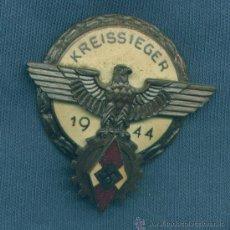 Militaria: ALEMANIA III REICH. PLACA KREISSIEGER 1944, BRONCE. MUY BUENA REPRODUCCIÓN DE LOS AÑOS 70-80. Lote 21687967