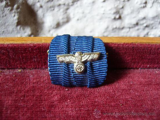 PASADOR DE DIARIO DEL EJÉRCITO ALEMÁN SEGUNDA GUERRA MUNDIAL (Militar - Cintas de Medallas y Pasadores)