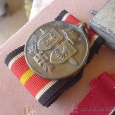 Militaria: DIVISION AZUL, MEDALLA FABRICACION ALEMANA MARCAJE EN LA ANILLA., 1 .. Lote 27597932