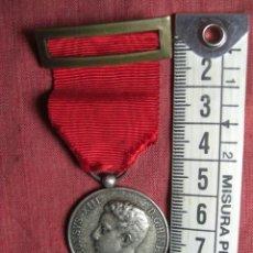 Militaria: MEDALLA DE DISTINCIÓN DE ALFONSO XIII. CREADA EN 1902. CALIDAD PLATA. Lote 26829873