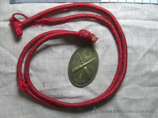MEDALLA DE SANTA BÁRBARA DE LOS ARTILLEROS. MADRID. 1893. (Militar - Medallas Españolas Originales )