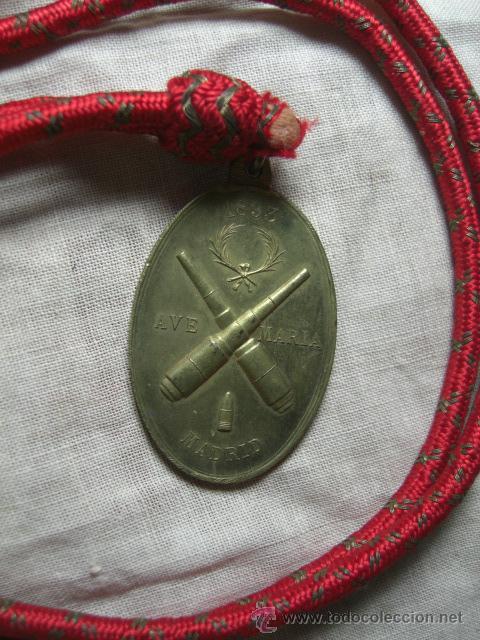 Militaria: Medalla de Santa Bárbara de los Artilleros. Madrid. 1893. - Foto 2 - 26851684