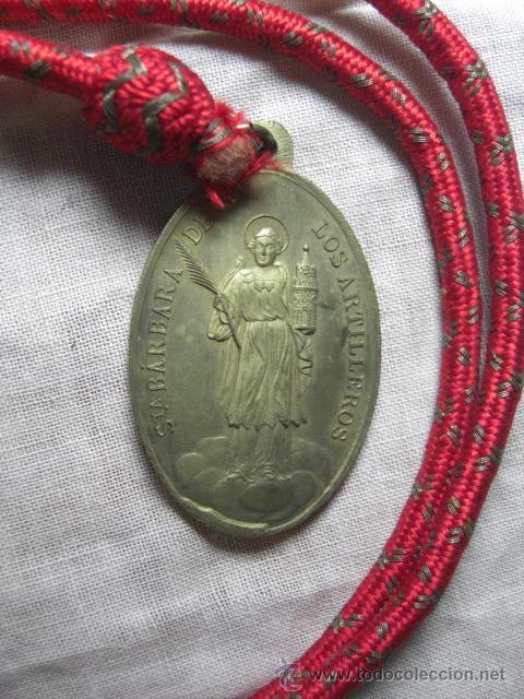 Militaria: Medalla de Santa Bárbara de los Artilleros. Madrid. 1893. - Foto 3 - 26851684