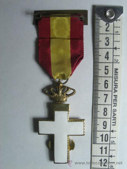 Militaria: Cruz del Mérito Naval. Distintivo Blanco. 1ª Época de Juan Carlos I. - Foto 2 - 26851679