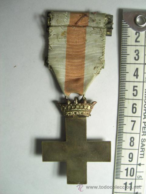 Militaria: Cruz de la Constancia en el Servicio para Suboficiales. 30 años de servicio. Época de Franco. - Foto 2 - 26913982