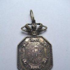 Militaria: JUSTICIA. MEDALLA VENERA PARA CUELLO. ÉPOCA ISABEL II O ALFONSO XII. Lote 26942274