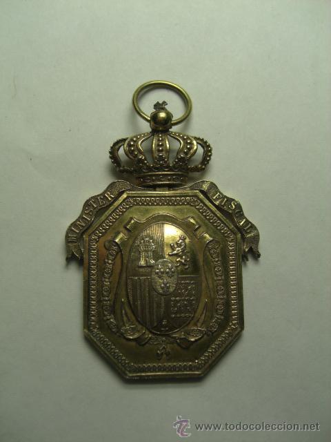 MINISTERIO FISCAL. JUSTICIA. ALFONSO XIII. (Militar - Medallas Españolas Originales )