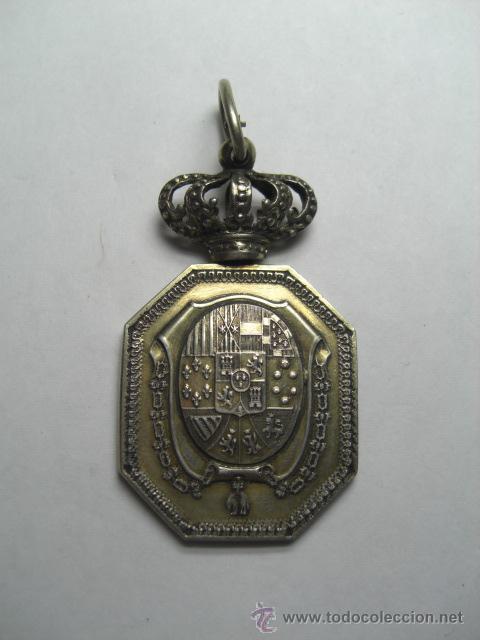 JUSTICIA. ALFONSO XII O ALFONSO XIII (Militar - Medallas Españolas Originales )