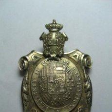 Militaria: MEDALLA VENERA DOCTOR UNIVERSITARIO. INSTITUIDA POR ISABEL II.. Lote 26942269
