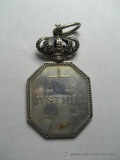 Militaria: Justicia. Alfonso XII o Alfonso XIII - Foto 3 - 26942271
