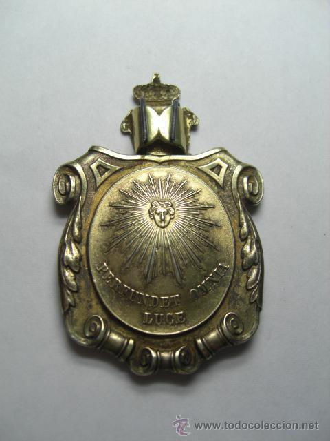 Militaria: Medalla Venera doctor universitario. Instituida por Isabel II. - Foto 3 - 26942269