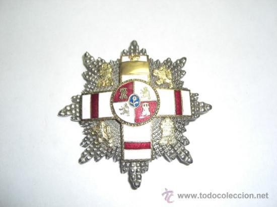 Militaria: Placa de Merito Militar Distintivo Blanco Pensionada. Época de Juan Carlos I. - Foto 2 - 26968442
