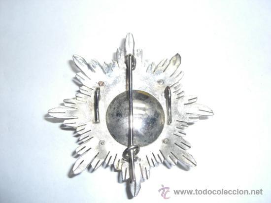 Militaria: Placa de Merito Militar Distintivo Blanco Pensionada. Época de Juan Carlos I. - Foto 4 - 26968442