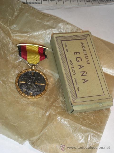 Militaria: Guerra Civil. Medalla de la Campaña. Vanguardia. - Foto 2 - 27614832