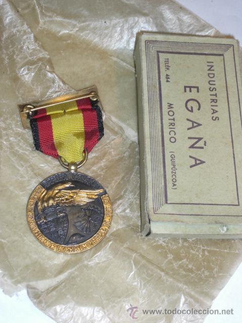 Militaria: Guerra Civil. Medalla de la Campaña. Vanguardia. - Foto 3 - 27614832