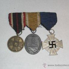 Militaria: ALEMANIA. II GUERRA MUNDIAL. TRES CONDECORACIONES. . Lote 27590451