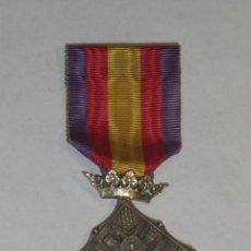 Militaria: MEDALLA DEL CENTENARIO DE LOS SITIOS DE GERONA. CATEGORÍA PLATA. 1809 -1909. . Lote 27590447