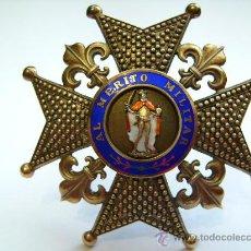 Militaria: GRAN CRUZ DE SAN FERNANDO CON LISES. Lote 27322295