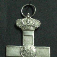 Militaria: CRUZ DEL MÉRITO MILITAR. PARA TROPA. ÉPOCA DE ALFONSO XIII.. Lote 27344429