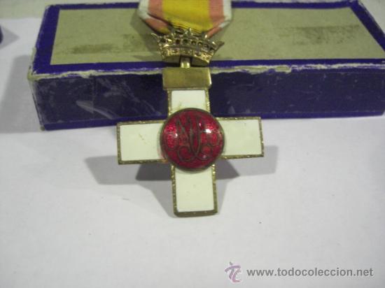 Militaria: Cruz del Mérito Aéreo. Pensionada.1ª Época de Franco. . - Foto 6 - 27460025