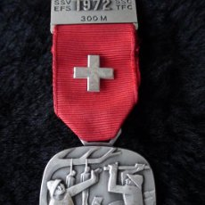 Militaria: MEDALLA DE SUIZA ORIGINAL. Lote 26257033